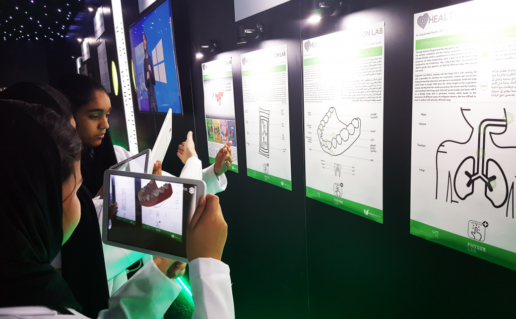 Augmented Reality by PhysUX Lab in Dubai