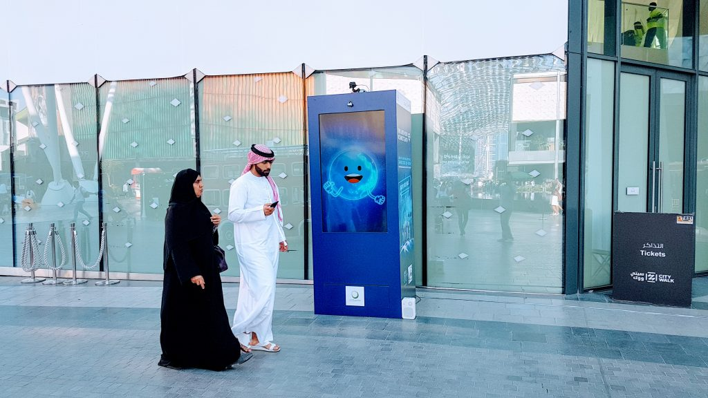 Mall Activation by PhysUX Lab in Dubai